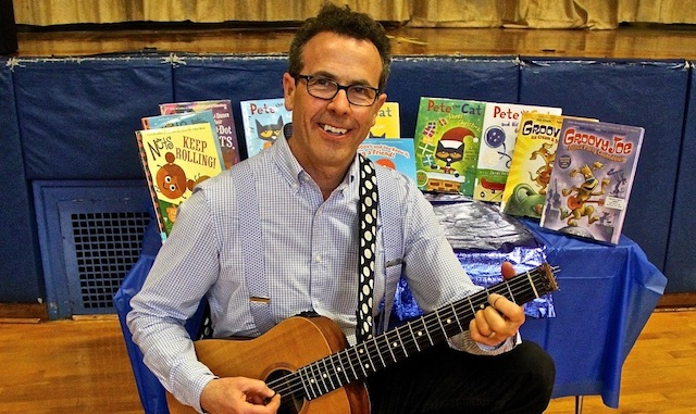 NYT Bestselling author Eric Litwin delights audience at Newark elementary school