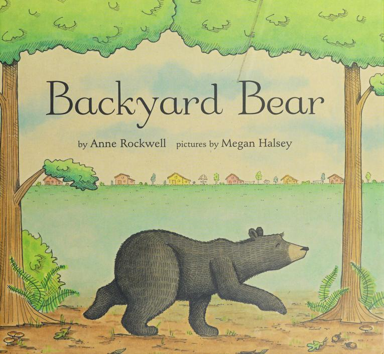 Backyard bear by Anne F. Rockwell