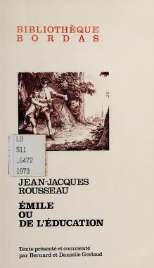 Cover of: Emile | Jean-Jacques Rousseau