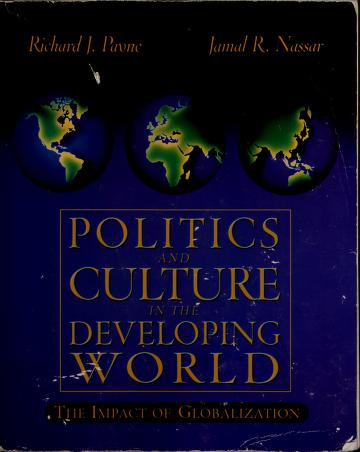 Cover of: Politics and culture in the developing world | Payne, Richard J.